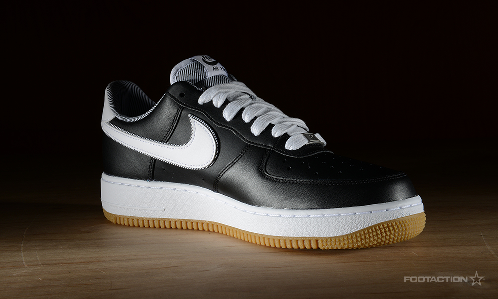 Nike Air Force 1 Low SS BlackWhiteGumFootaction Star Club