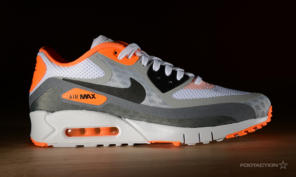 Nike Air Max 90 Breathe (2 Colorways) (WhiteBlackWolf Grey