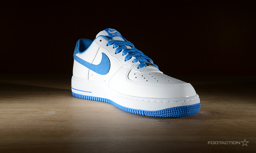 Nike Air Force 1 Low WhitePhoto BlueFootaction Star Club