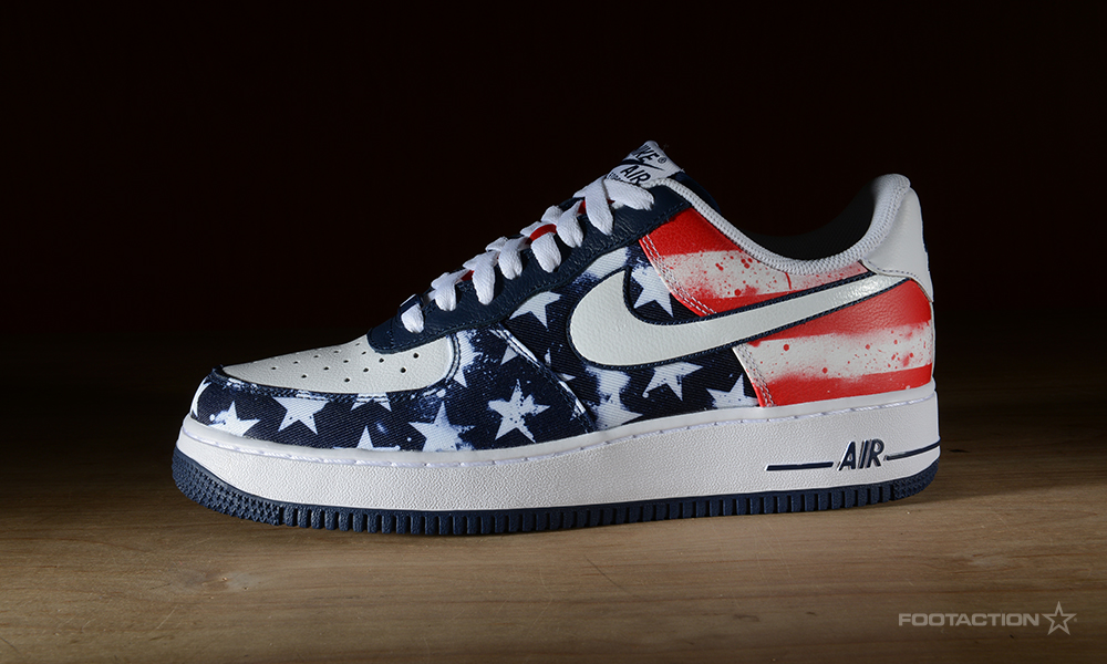 Nike Air Force 1 Low July 4thFootaction