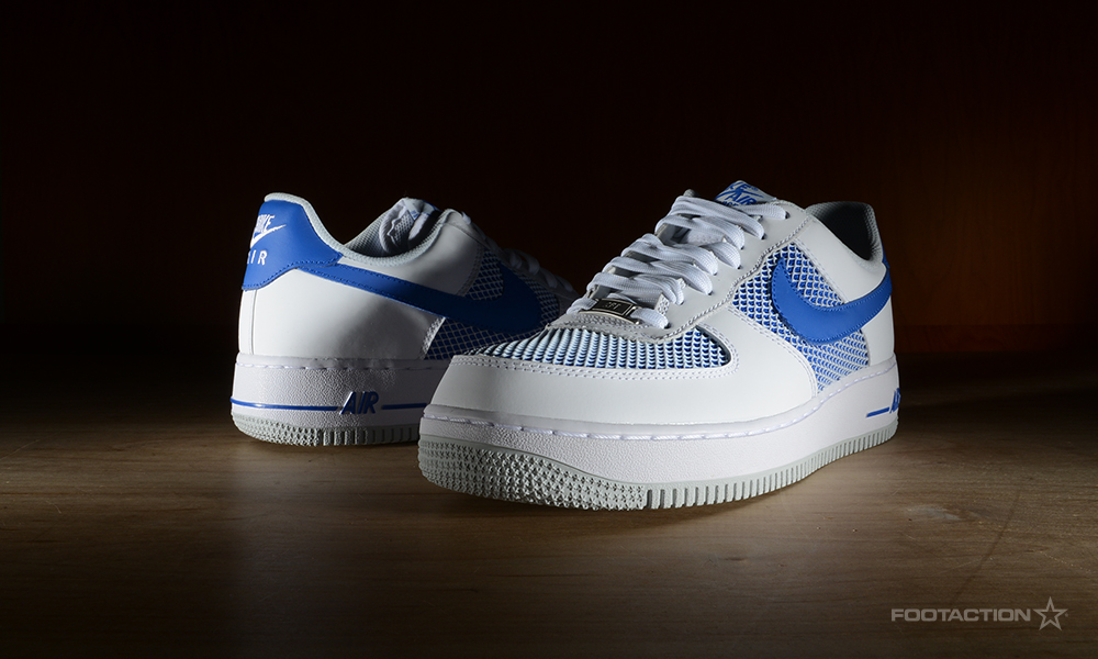Nike Air Force 1 Low White/Hyper CobaltFootaction Star Club