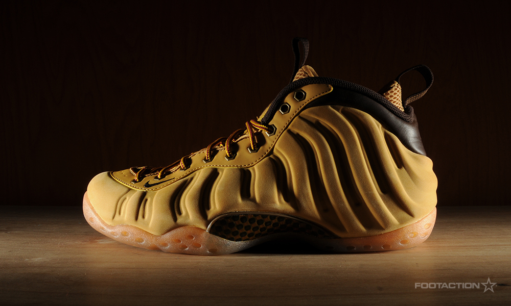 low priced e2929 d436d Nike Air Foamposite One 'Wheat'Footaction Star Club