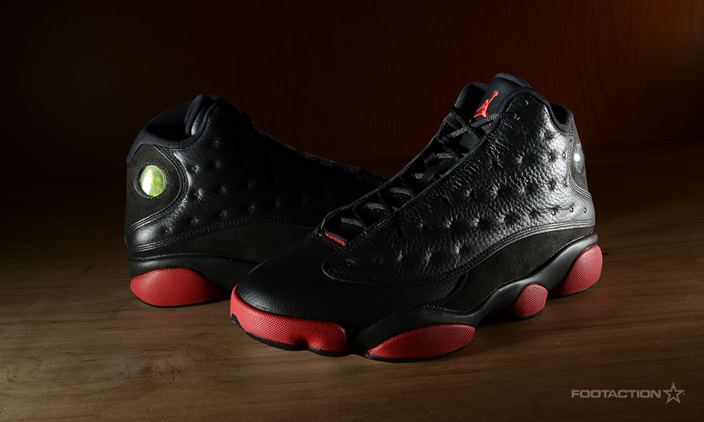 official photos bbc09 6292f Air Jordan 13 Retro 'Black/Gym Red'Footaction Star Club